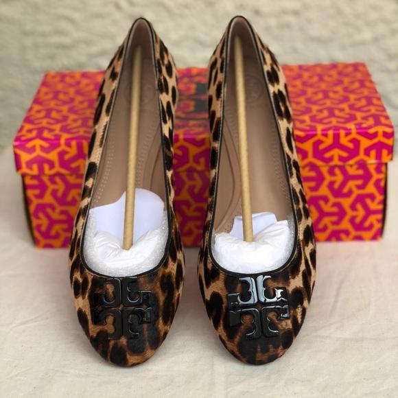 f9dc72d0b82b Tory Burch Lowell 2 ballet flat leopard size 7